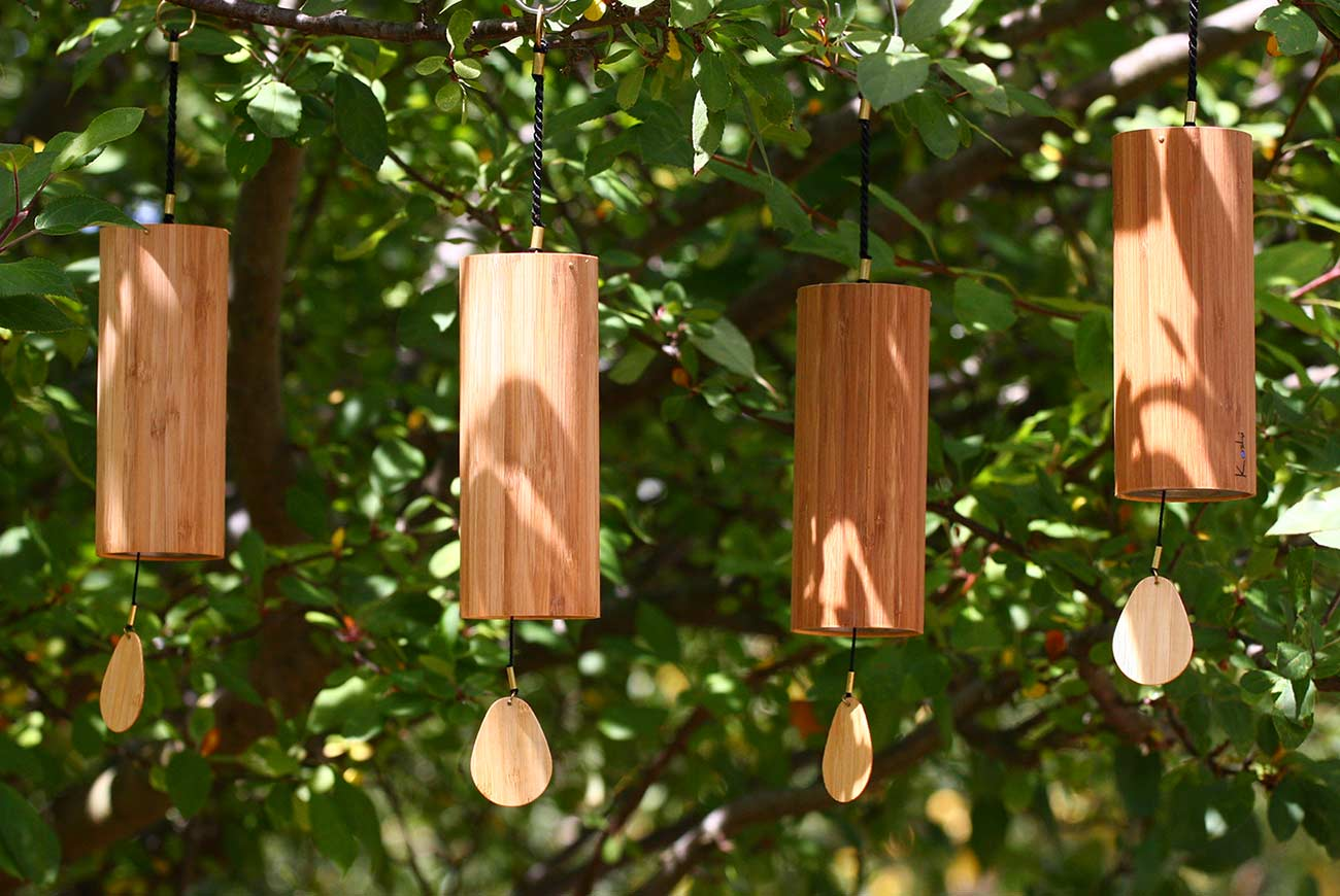 Koshi wind chimes precision tuned wind chimes australia for Antorchas para jardin